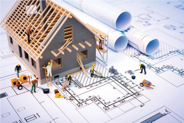 Різні типи будівельних проектів